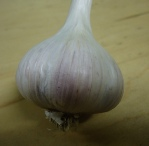 Fresh Romanian Red-Porcelain Garlic